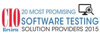Top 20 Software Testing Solution Companies - 2015